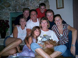 The family and teddy